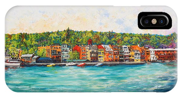 Summer In Skaneateles Ny IPhone Case