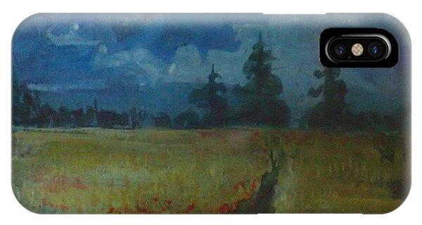 Sunny Field IPhone Case