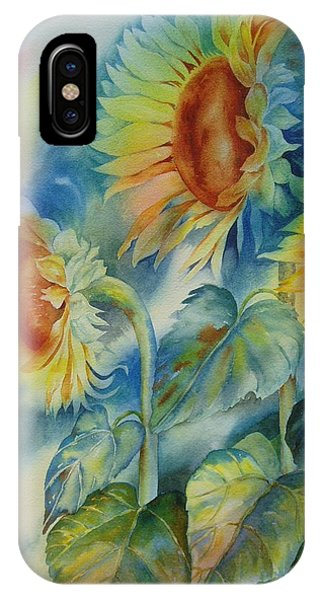 Sunny Flowers IPhone Case