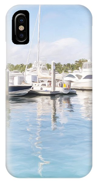 Sunny Harbor IPhone Case