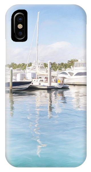 Sunny Harbor IPhone Case