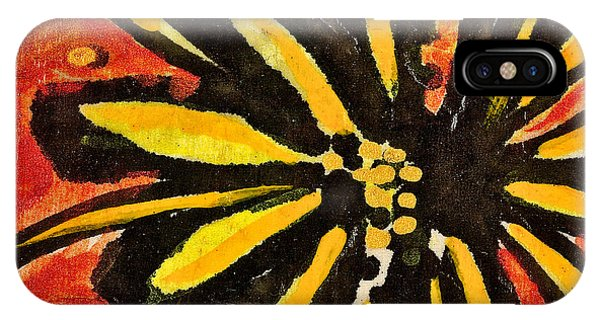 Sunny Hues Watercolor IPhone Case