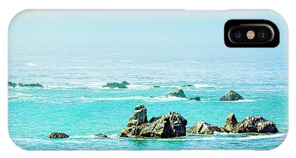 Sunny Pacific Ocean Oregon Coast IPhone Case