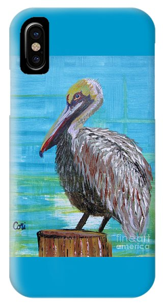 Sunny Pelican Day IPhone Case