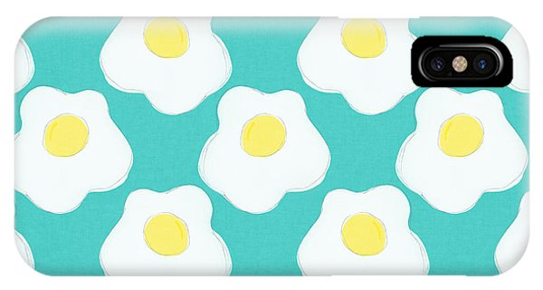 Sunny iPhone Case - Sunny Side Up Eggs- Art By Linda Woods by Linda Woods