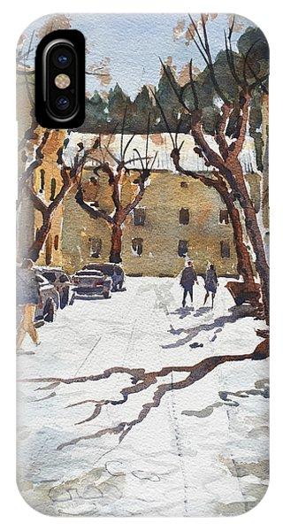 Sunny Street, Valledemossa IPhone Case
