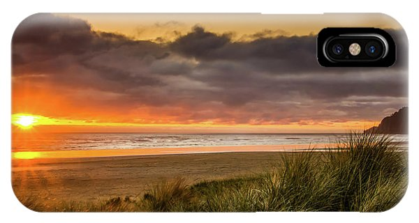 Sunrays Over Manzanita IPhone Case