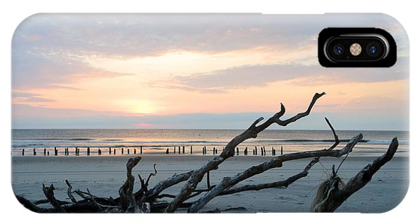 IPhone Case featuring the photograph Sunrise @ Pea Island by Barbara Ann Bell