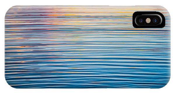 Sunrise Abstract On Calm Waters IPhone Case