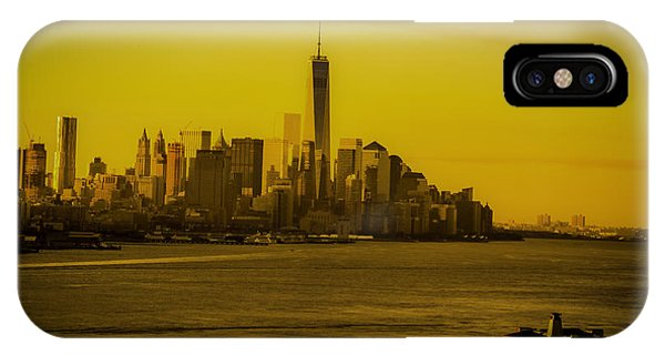 Sunrise Across The Hudson IPhone Case