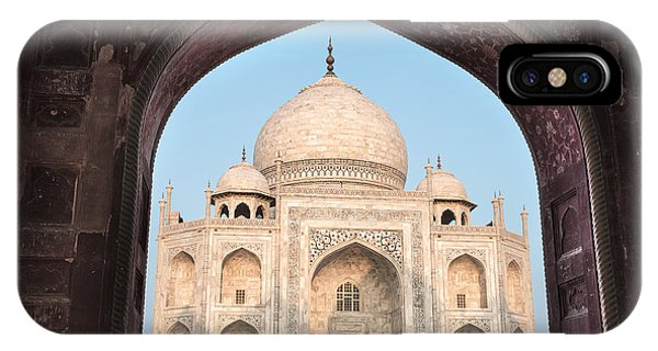 Sunrise Arches Of The Taj Mahal IPhone Case