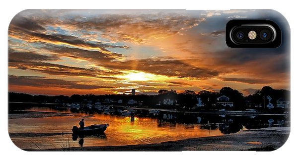 Sunrise At Back Cove IPhone Case
