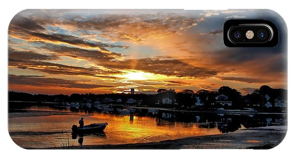 Sunrise At Back Cove IPhone Case