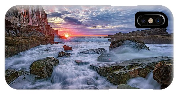 Sunrise At Bald Head Cliff IPhone Case