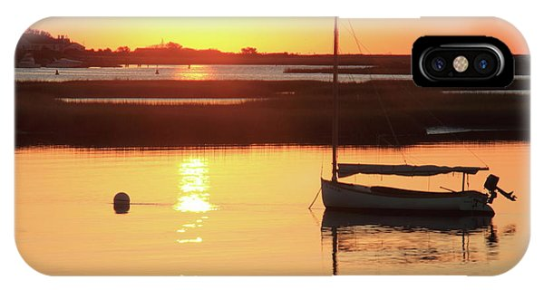 Sunrise At Bass River IPhone Case