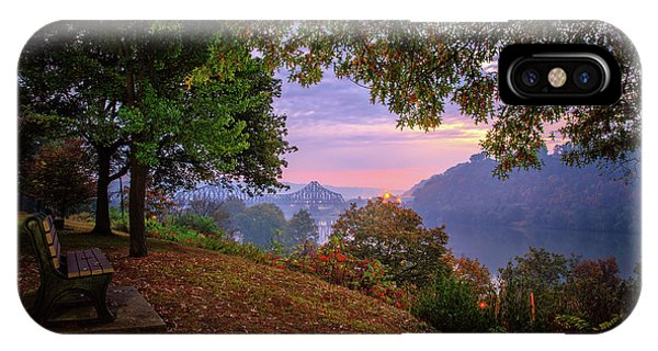 Sunrise At River Rd  IPhone Case