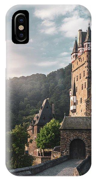 Sunrise At Castle Eltz, Germany IPhone Case