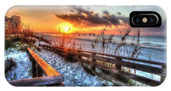 Sunrise At Cotton Bayou  IPhone Case