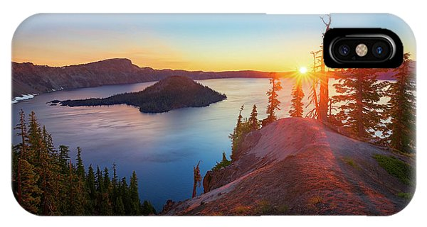 Sunrise At Crater Lake IPhone Case