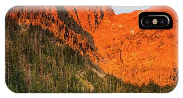Rocky Mountain Np iPhone Case - Sunrise At Dream Lake by Kunal Mehra