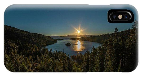 Sunrise At Emerald Bay IPhone Case