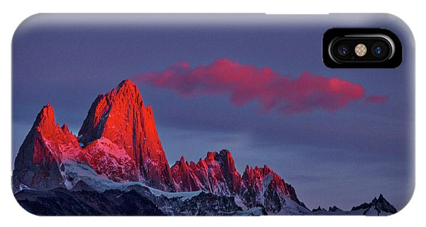 Sunrise At Fitz Roy #3 - Patagonia IPhone Case