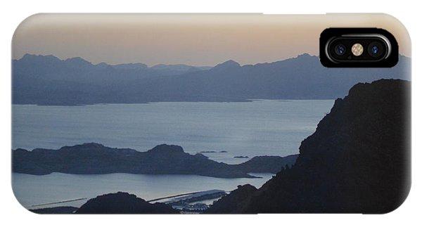 Sunrise At Hoover Dam IPhone Case