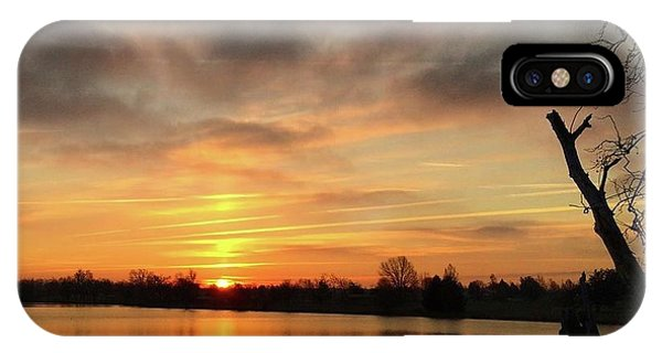 Sunrise At Jacobson Lake IPhone Case