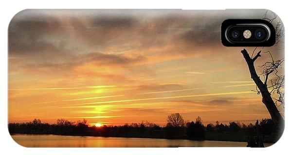 Sunrise At Jacobson Lake IPhone Case