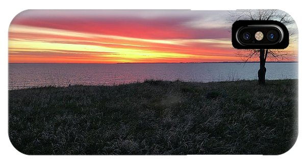 Sunrise At Lake Sakakawea IPhone Case