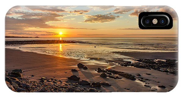 Sunrise At Long Sands IPhone Case