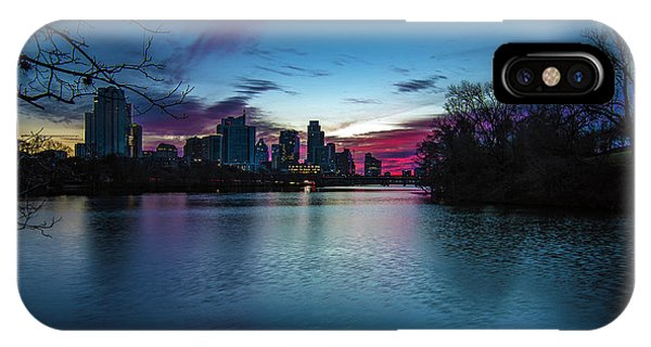 Sunrise At Lou Neff Point IPhone Case