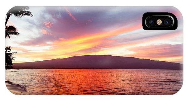 Sunrise At Ma'alaea Maui IPhone Case