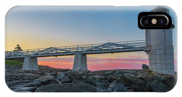 Sunrise At Marshall Point IPhone Case
