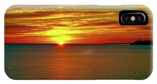 Sonne iPhone Case - Sunrise At Matane by Juergen Weiss