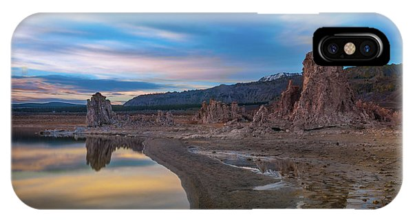 Sunrise At Mono Lake IPhone Case