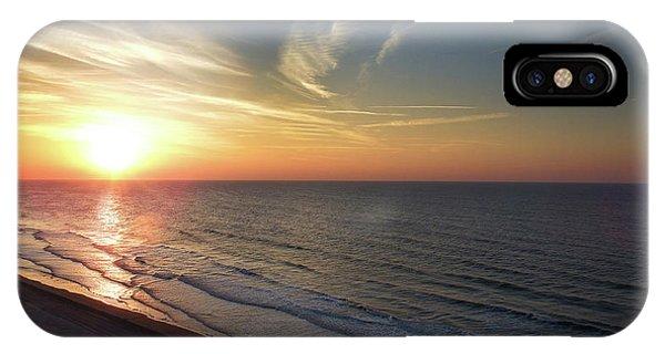 Sunrise At North  Myrtle Beach IPhone Case