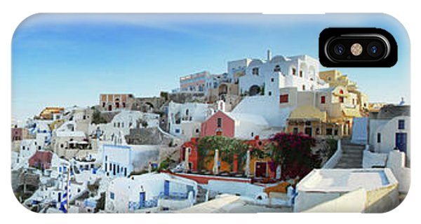 Sunrise At Oia IPhone Case