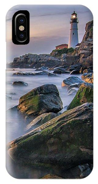Sunrise At Portland Head Light IPhone Case