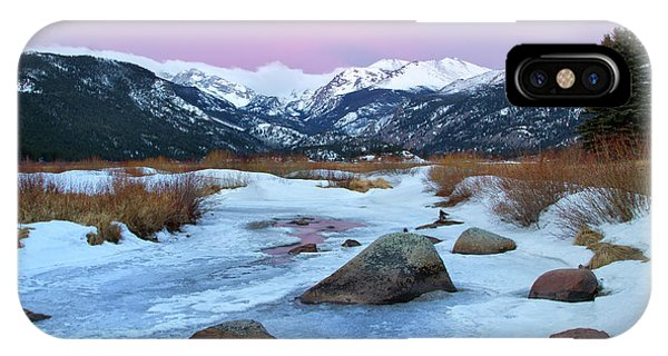 Sunrise At Rocky Mountain National Park IPhone Case