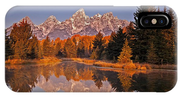 Sunrise At Schwabacher Landing  IPhone Case