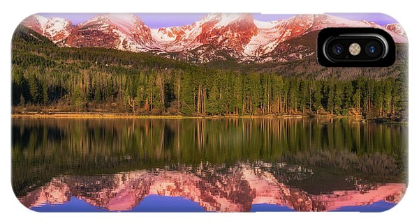IPhone Case featuring the photograph Sunrise At Sprage Lake by Darren White