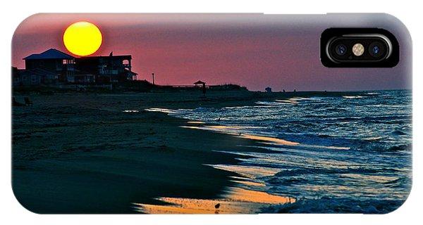 Sunrise At St. George Island Florida IPhone Case