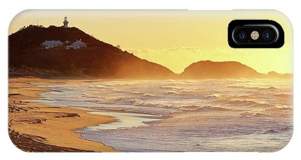 Sunrise At Sugarloaf Point IPhone Case