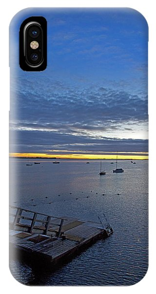 Sunrise At The Barnstable Yacht Club IPhone Case