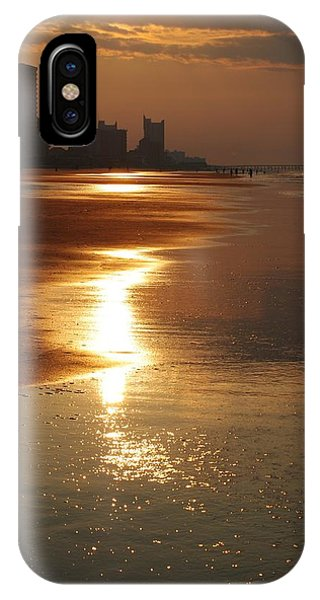 Sunrise At The Beach IPhone Case