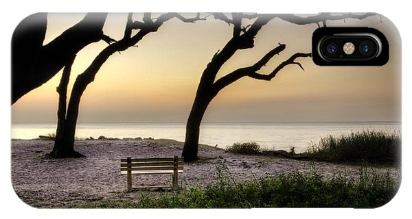 Sunrise At The Bench IPhone Case