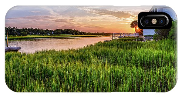 Sunrise At The Boat Ramp IPhone Case