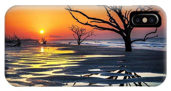 Sunrise At The Boneyard IPhone Case