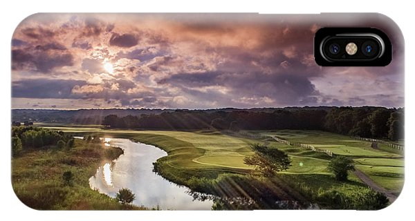 Sunrise At The Course IPhone Case